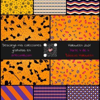 colección digital gratis pdf scrapbooking halloween