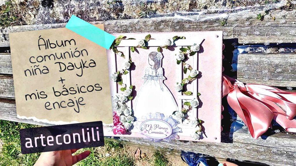 Imagen del video de youtube de la coleccion dayka comunion niña